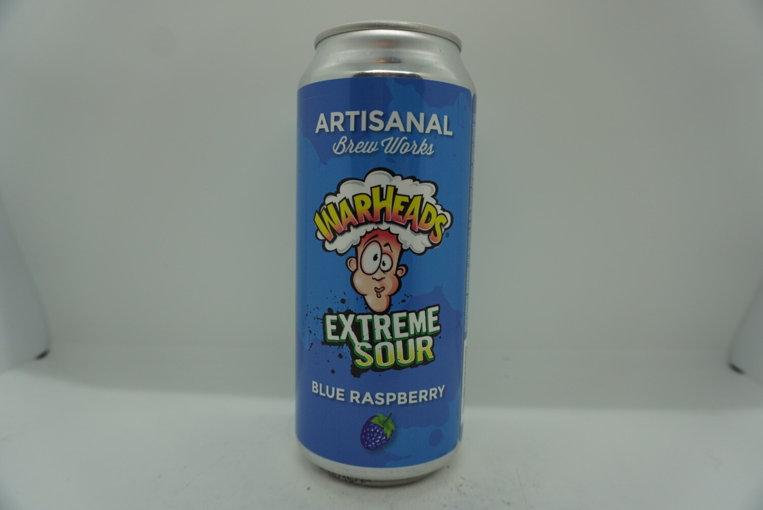 Artisanal Brew Works - Warheads Extreme Sour Blue Raspberry - Sour Fruited - 5% ABV - 160z Can