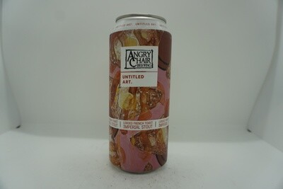 Untitled Art - Loaded French Toast - Imperial Stout - 11% ABV - 16oz Can