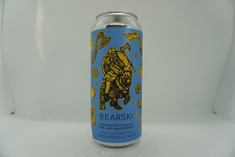 Hidden Springs - Bearski- Sour - 5.5% ABV - 16oz Can