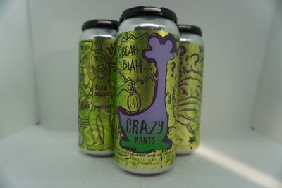 Oozlefinch - Crazy Pants Goose Berry - Fruited Sour - 6.% ABV - 4 Pack