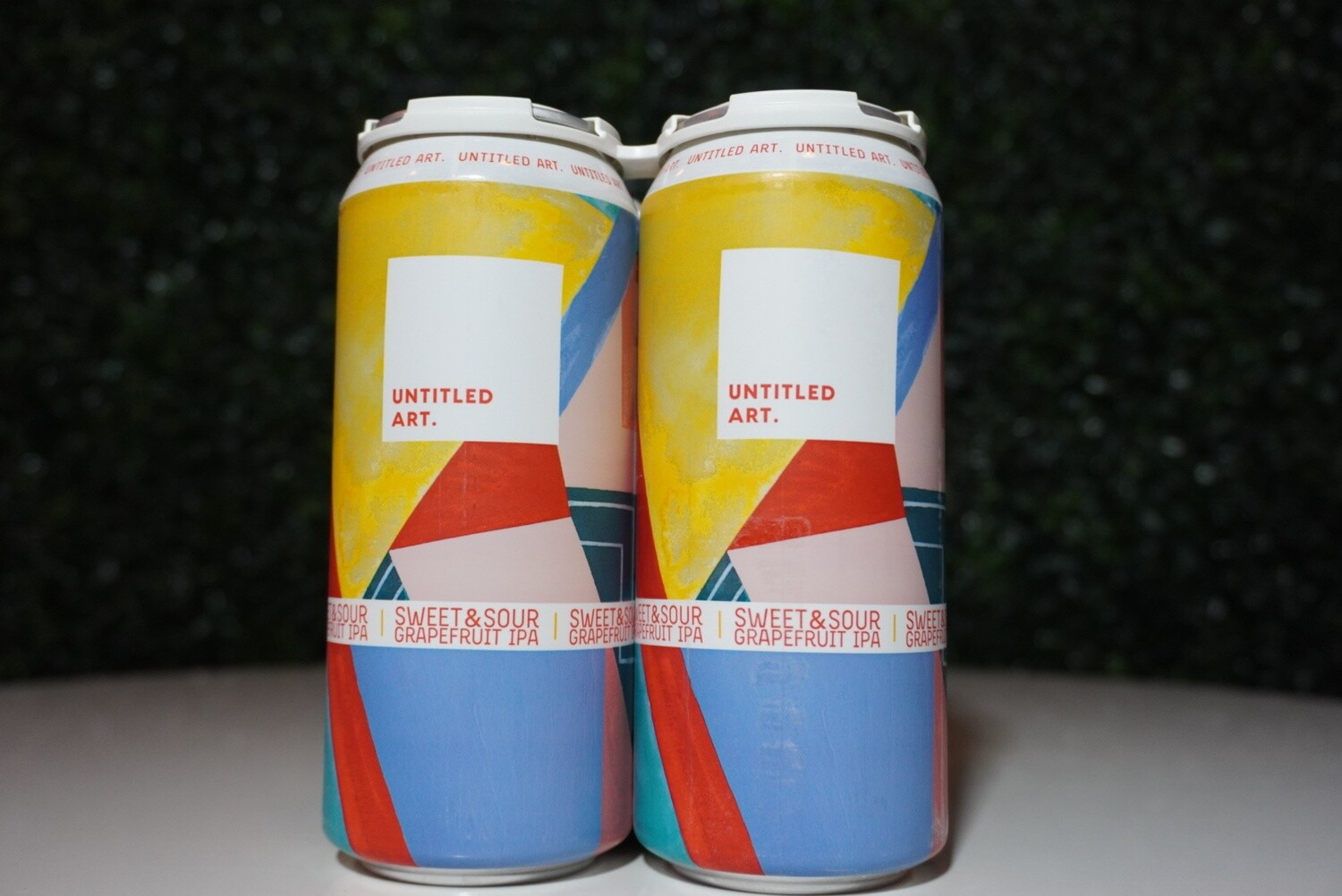 Untitled Art - Sweet and Sour Grapefruit IPA - IPA - 7% ABV - 4 Pack