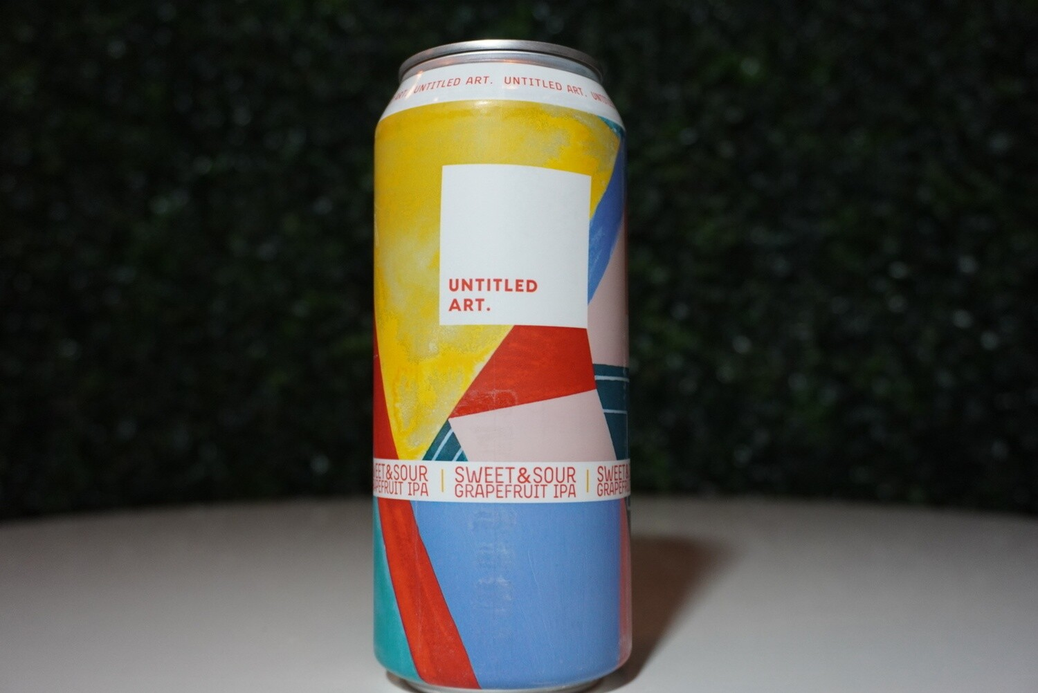 Untitled Art - Sweet and Sour Grapefruit IPA - IPA - 7% ABV - 16oz Can