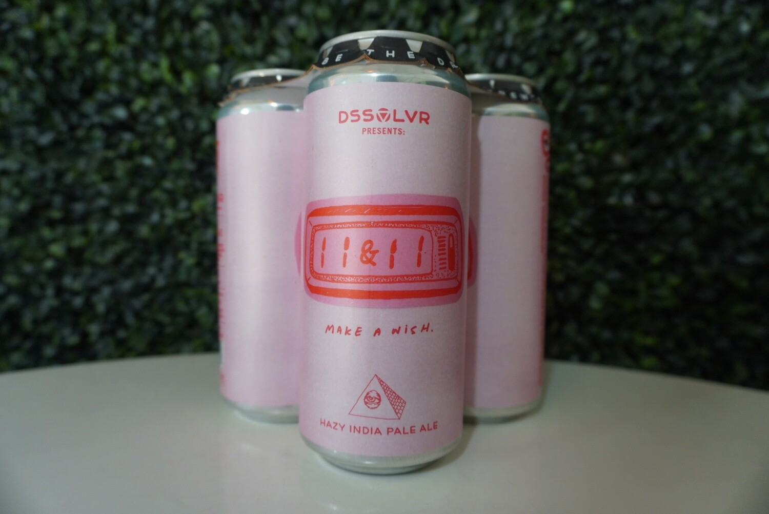 DSSOLVR - 11 & 11 - New England IPA - 7.5% ABV - 4 Pack