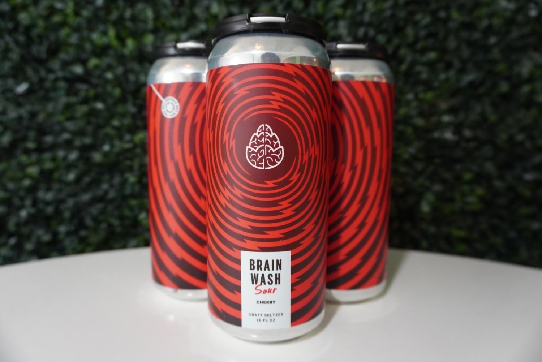 Cerebral - Brain Wash Cherry - Hard Seltzer - 4.8% ABV - 4 Pack