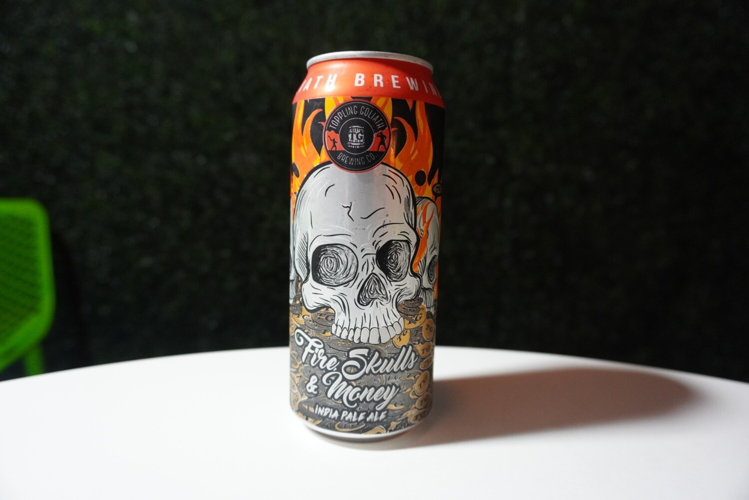 Toppling Goliath - Fire, Skills, & Money - IPA - 7.2% - 16oz Can