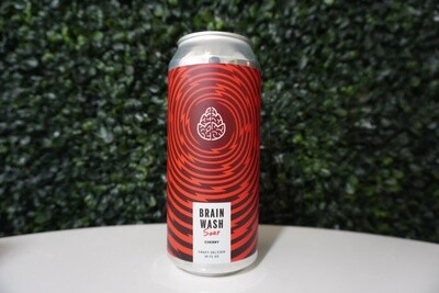 Cerebral - Brain Wash Cherry - Hard Seltzer - 4.8% ABV - 16oz Can