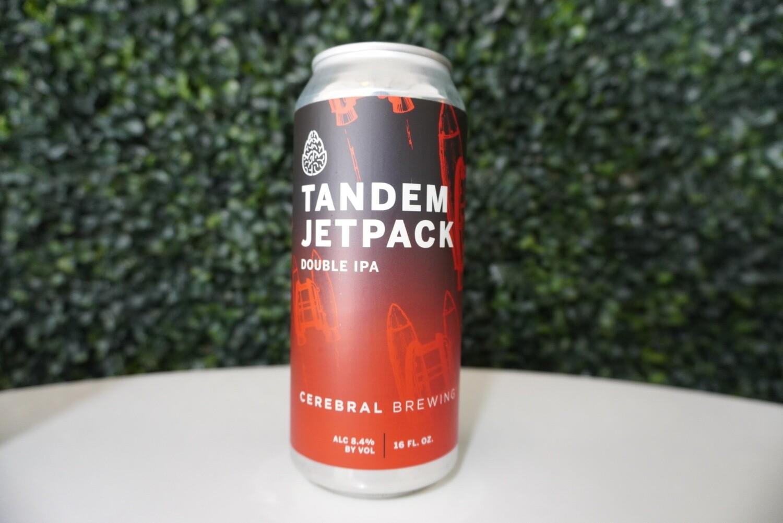 Cerebral - Tandem JetPack - Double IPA - 8.5% ABV - 16oz can
