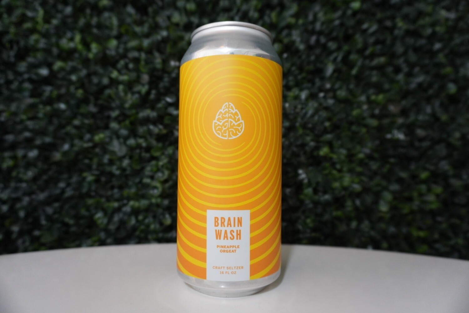 Cerebral - Brain Wash Pineapple - Hard Seltzer - 4.8% ABV - 16oz Can