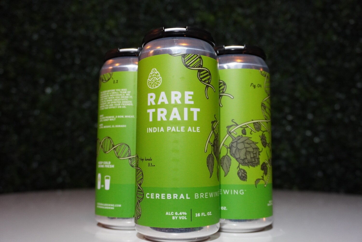 Cerebral - Rare Trait - IPA - 6.4% ABV - 4 pack