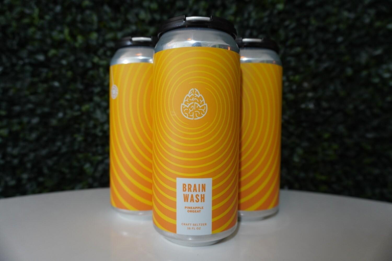 Cerebral - Brain Wash Pineapple - Hard Seltzer - 4.8% ABV - 4 Pack