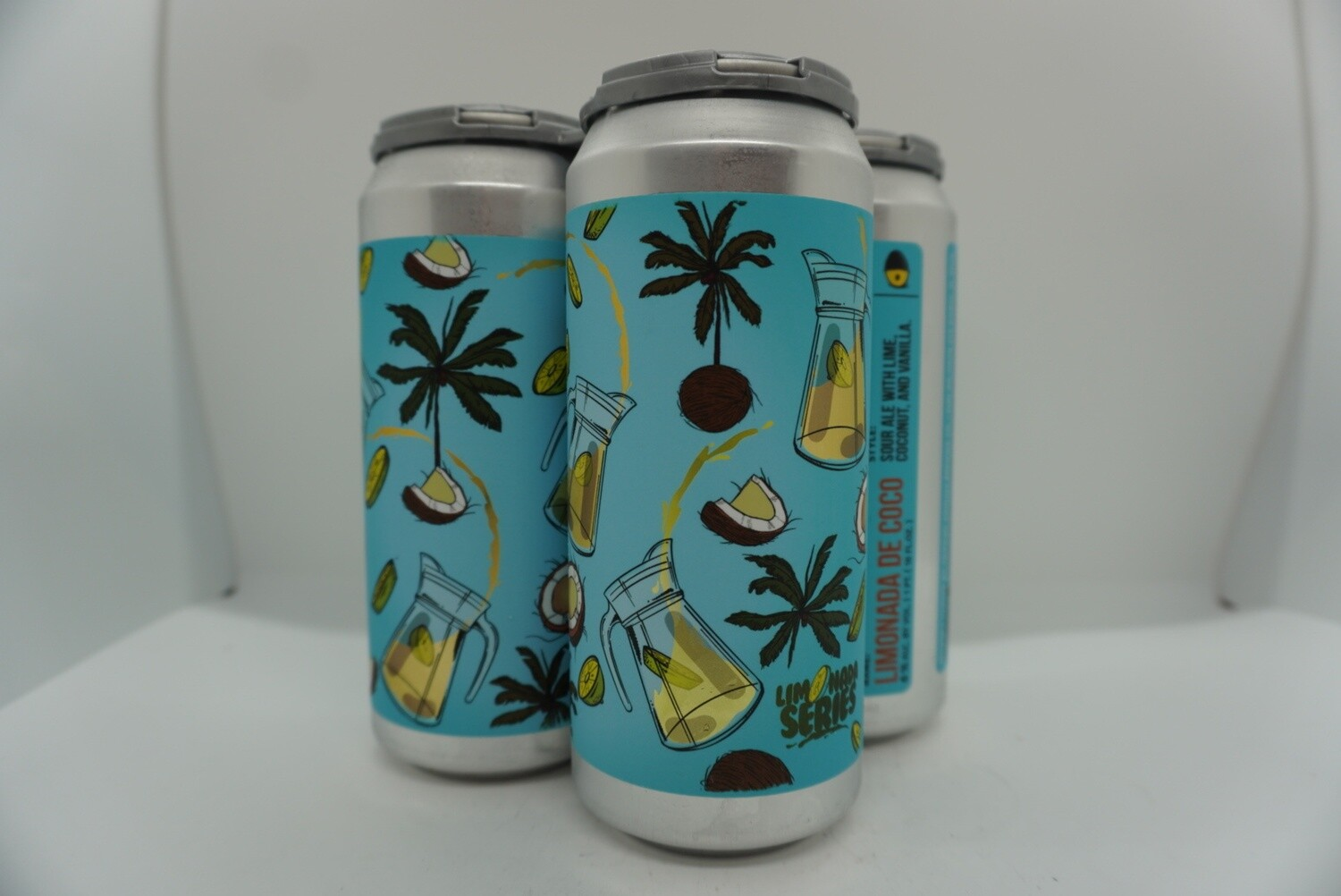 Tripping Animals - Limonada de Coco - Sour - 6% ABV - 4 Pack