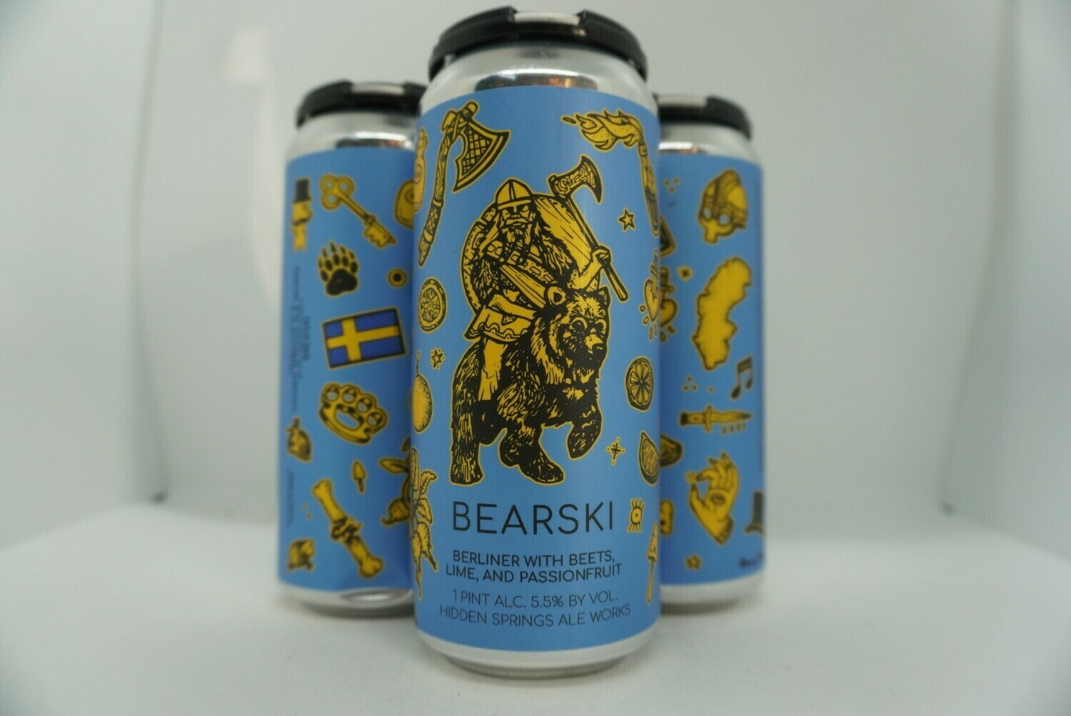 Hidden Springs - Bearski- Sour - 5.5% ABV - 4 Pack