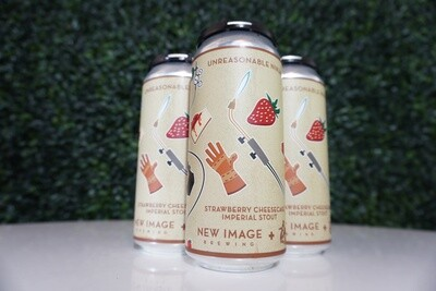 New Image Brewing - Unreasonable Ninja - Imperial Stout - 10% ABV - 16oz Can