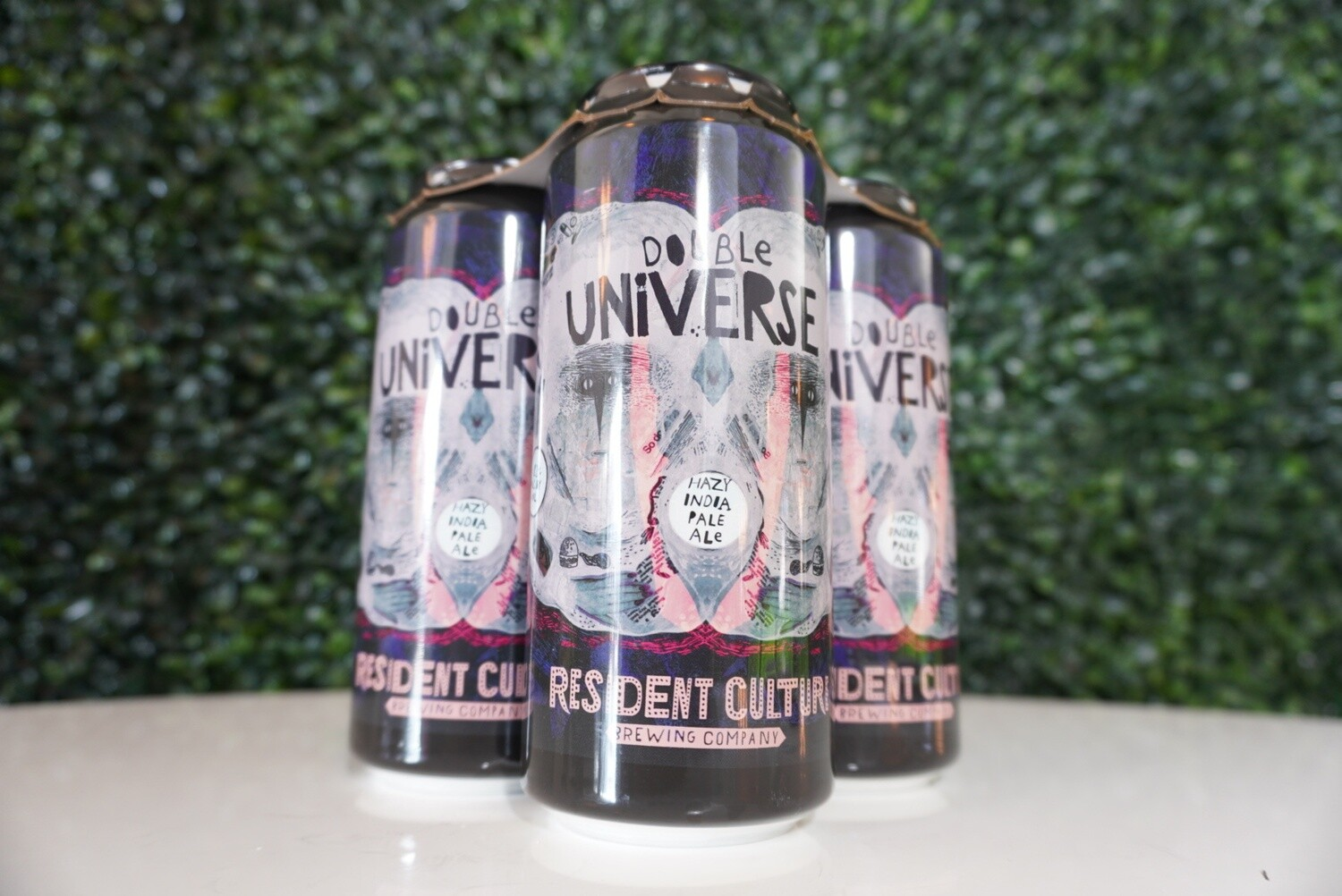 Resident Culture - Double Universe - Double New England IPA - 8.2% ABV - 4 Pack