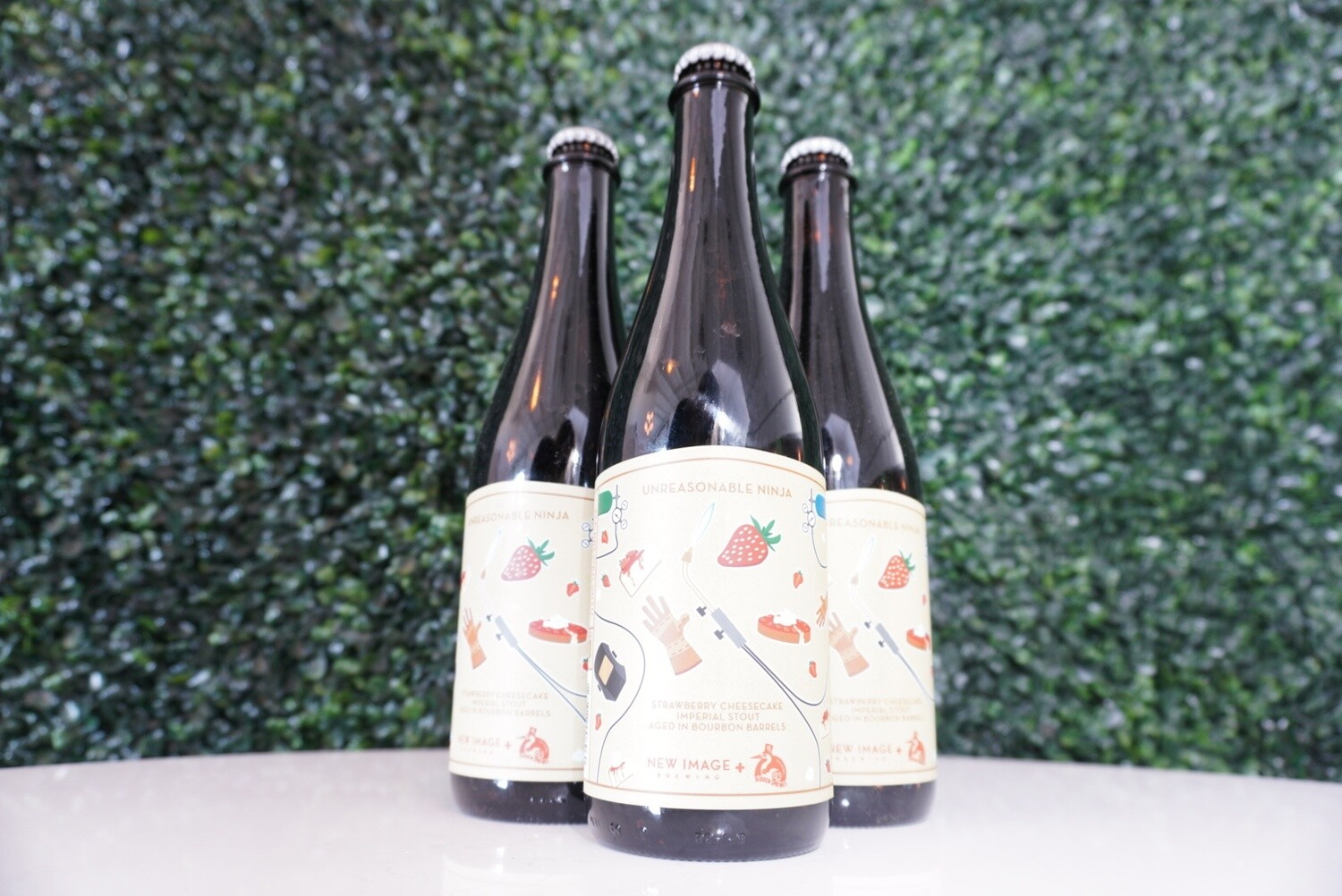 New Image Brewing - Barrel Aged Unreasonable Ninja - BA Imperial Stout - 13.85% ABV - 500ml Bottle