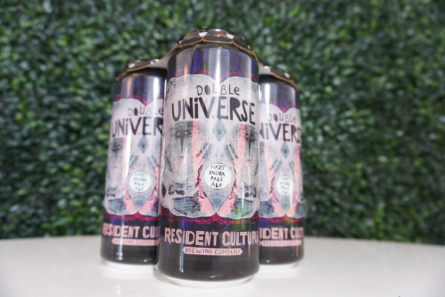 Resident Culture - Double Universe - Double New England IPA - 8.2% ABV - 16oz Can
