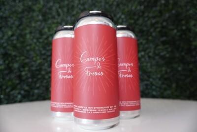 J. Wakefield -   Campos De Fresas - Imperial Blonde Ale - 9.5% ABV - 4 Pack
