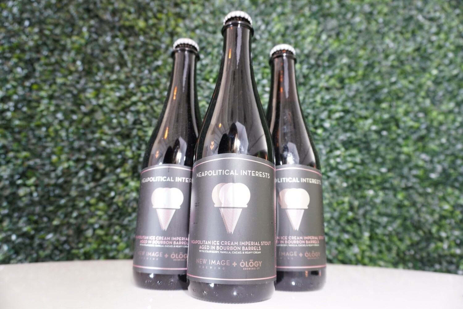 New Image Brewing - Barrel Aged Neapolitical Interests - BA Imperial Stout - 13.85% ABV - 500ml Bottle