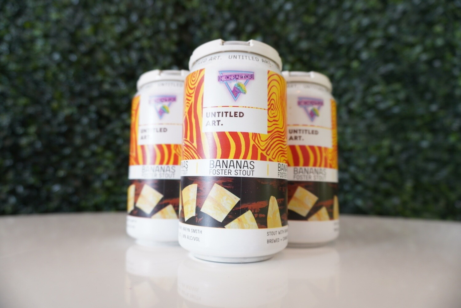 Untitled Art - Bananas Foster Stout - Pastry Stout - 8% ABV - 12oz Can
