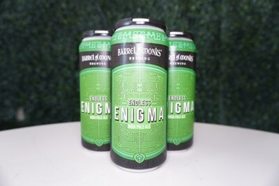 Barrel of Monks - Endless Enigma - IPA - 6.4% ABV - 16oz Can