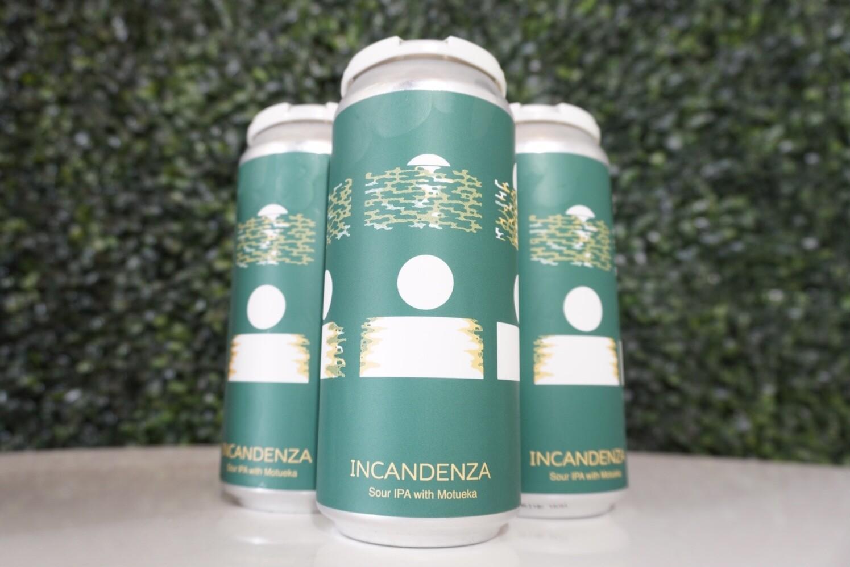Hudson Valley - Incandenza Motueka - Sour IPA - 6% ABV - 4 Pack