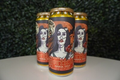 Barrier Brewing - Morticia - Imperial Stout - 10.1% ABV - 4 Pack