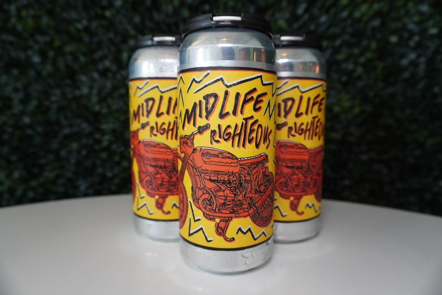 Burley Oak - Mid Life Righteous - Triple IPA - 9.2% ABV - 16oz Can