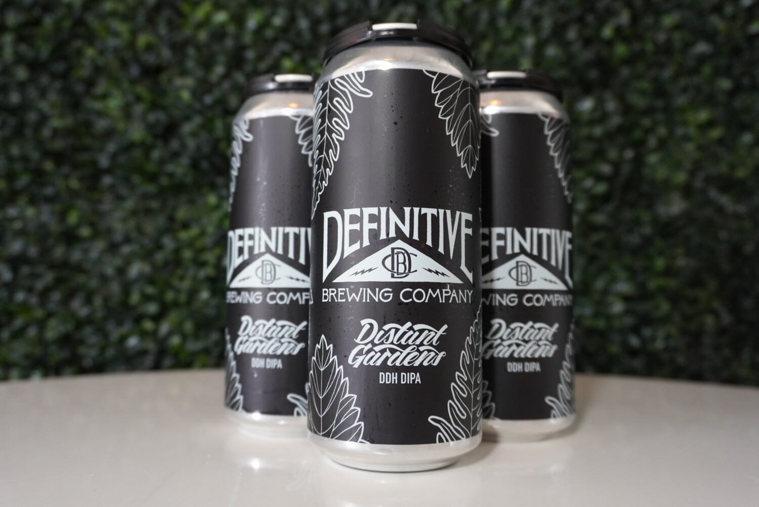 Definitive Brewing - Distant Gardens - DDH DIPA - 8% ABV - 16oz Can