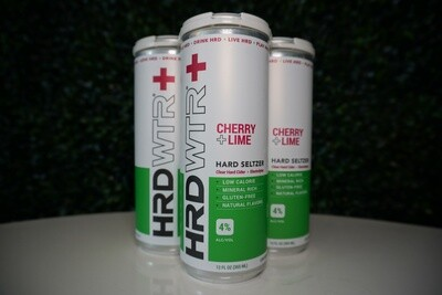 HRD WTR - Cherry Lime - Hard Seltzer - 4 Pack