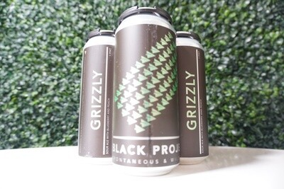 Black Project - Grizzly - Sour Ale - 6.32% ABV - 4 Pack