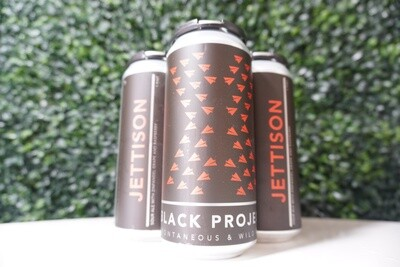 Black Project - Jettison Sour - Sour Ale - 7.03% ABV - 4 Pack