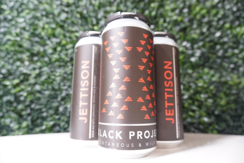 Black Project - Jettison Sour - Sour Ale - 7.03% ABV - 16oz Can