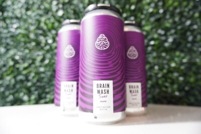 Cerebral - Brain Wash Sour Grape - Hard Seltzer - 4.8% ABV - 4 Pack
