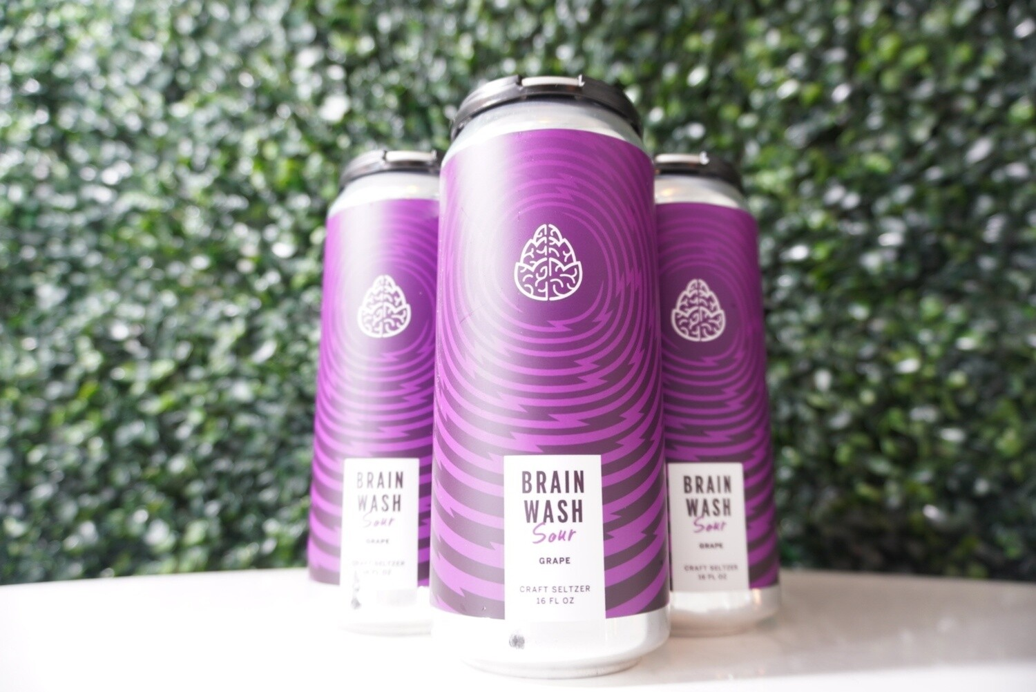 Cerebral - Brain Wash Sour Grape - Hard Seltzer - 4.8% ABV - 16oz Can