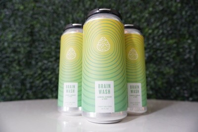 Cerebral - Brain Wash Lemon Ginger - Hard Seltzer - 4.8% ABV - 16oz Can