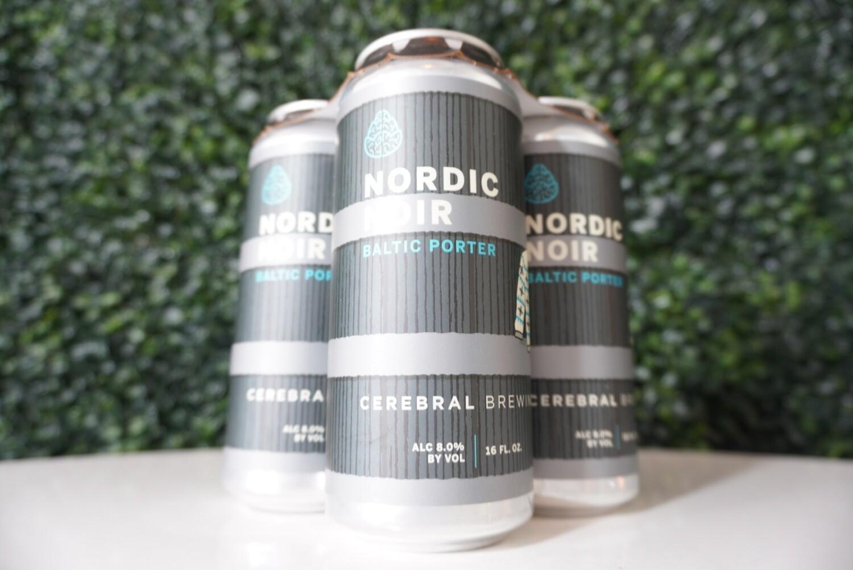 Cerebral - Nordic Noir - Baltic Porter - 8% ABV - 4 Pack