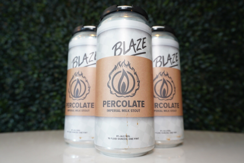 Blaze Brewing - Percolate - Stout - 8% ABV - 16oz Can
