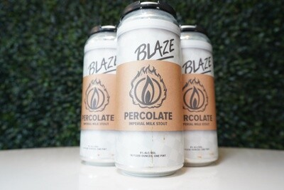 Blaze Brewing - Percolate - Stout - 8% ABV - 4 Pack