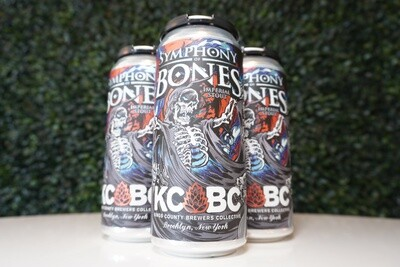 KCBC - Symphony of Bones - Imperial Milk Stout - 14% ABV - 4 Pack