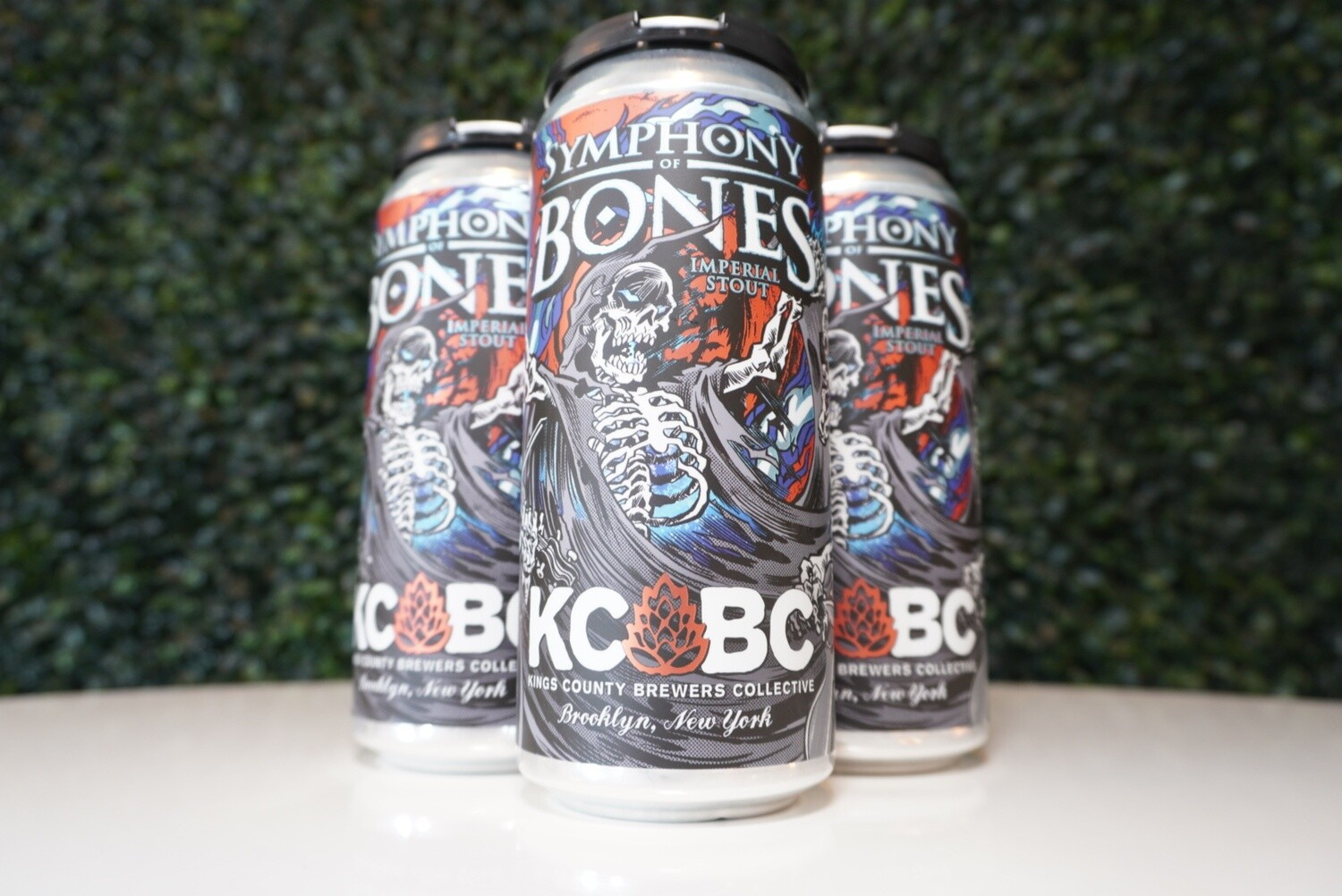 KCBC - Symphony of Bones - Imperial Milk Stout - 14% ABV - 16oz Can