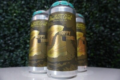 Southern Grist - Hoppy Timbs - Double IPA - 7.9% ABV - 16oz Can