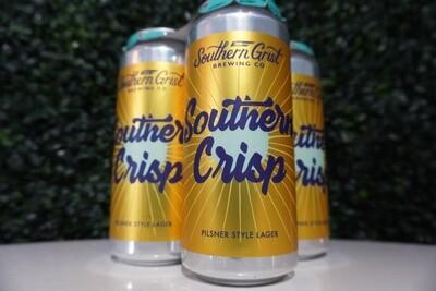 Southern Grist - Southern Crisp - Pilsner - 4.4% ABV - 4 Pack