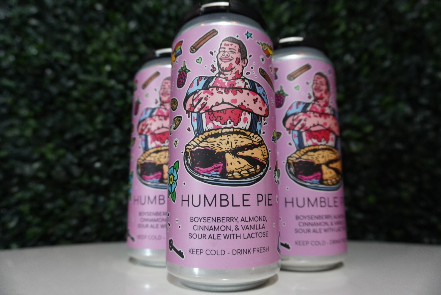 Hidden Springs - Humble Pie - Sour - 5.5% ABV - 4 Pack
