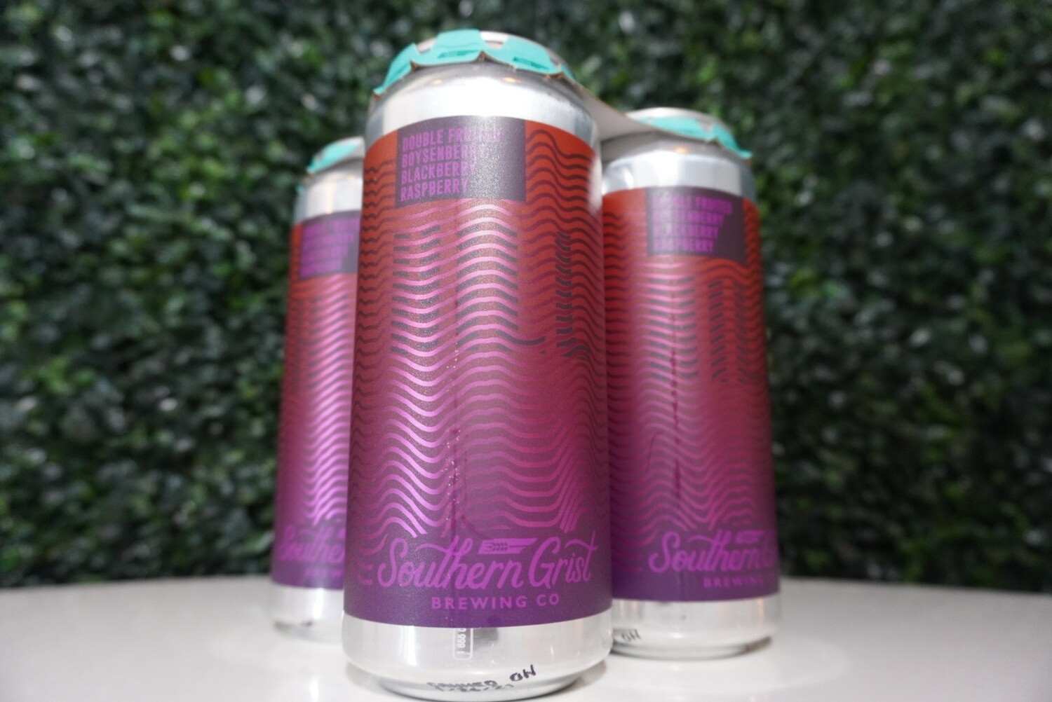 Southern Grist - Double Fruited Boysenberry Blackberry Raspberry Hill - Fruited Sour - 5.6% ABV - 16oz Can