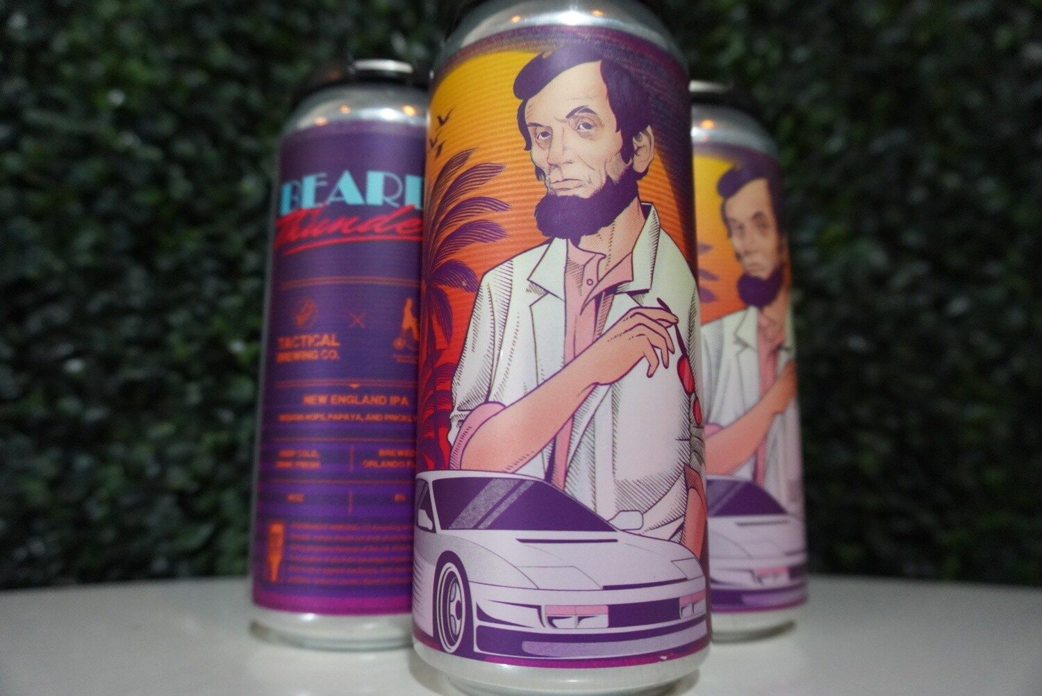 Tactical Brewing - Beards of Thunder - New England IPA - 6% ABV - 16oz Can