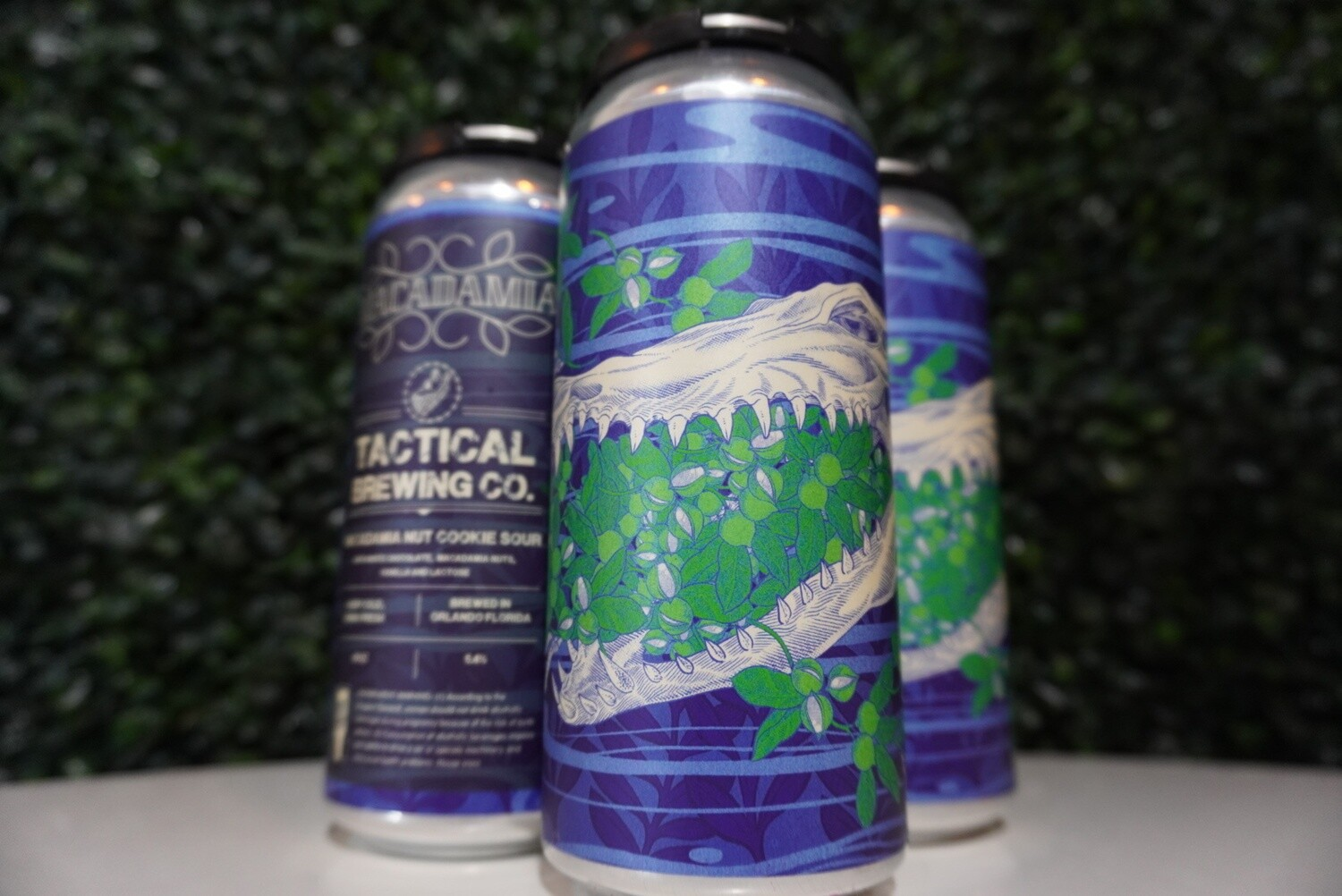 Tactical Brewing - Macadamia - Sour - 5.4% ABV - 16oz Can
