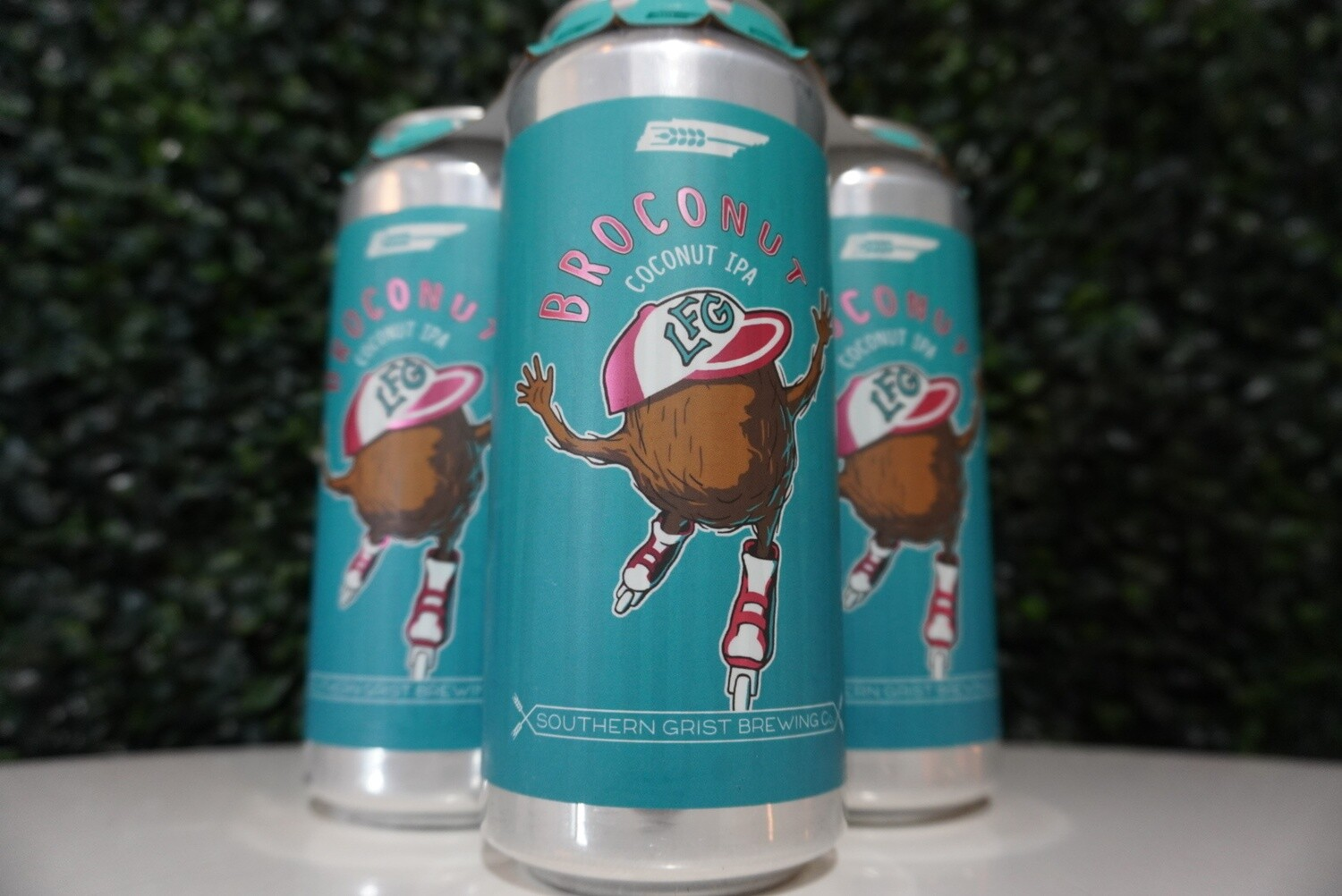Southern Grist - BroCoNut - IPA - 6.2% ABV - 16oz Can