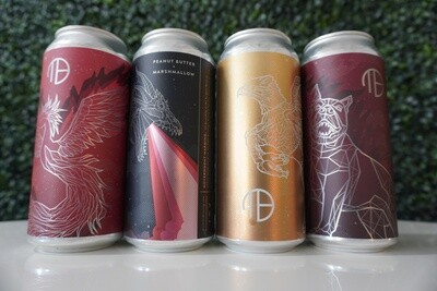 Mortalis - Mixed 4 Pack - Cerbrus, Hippogrif, Hydra Sandwich, Phoenix Fruited Sours