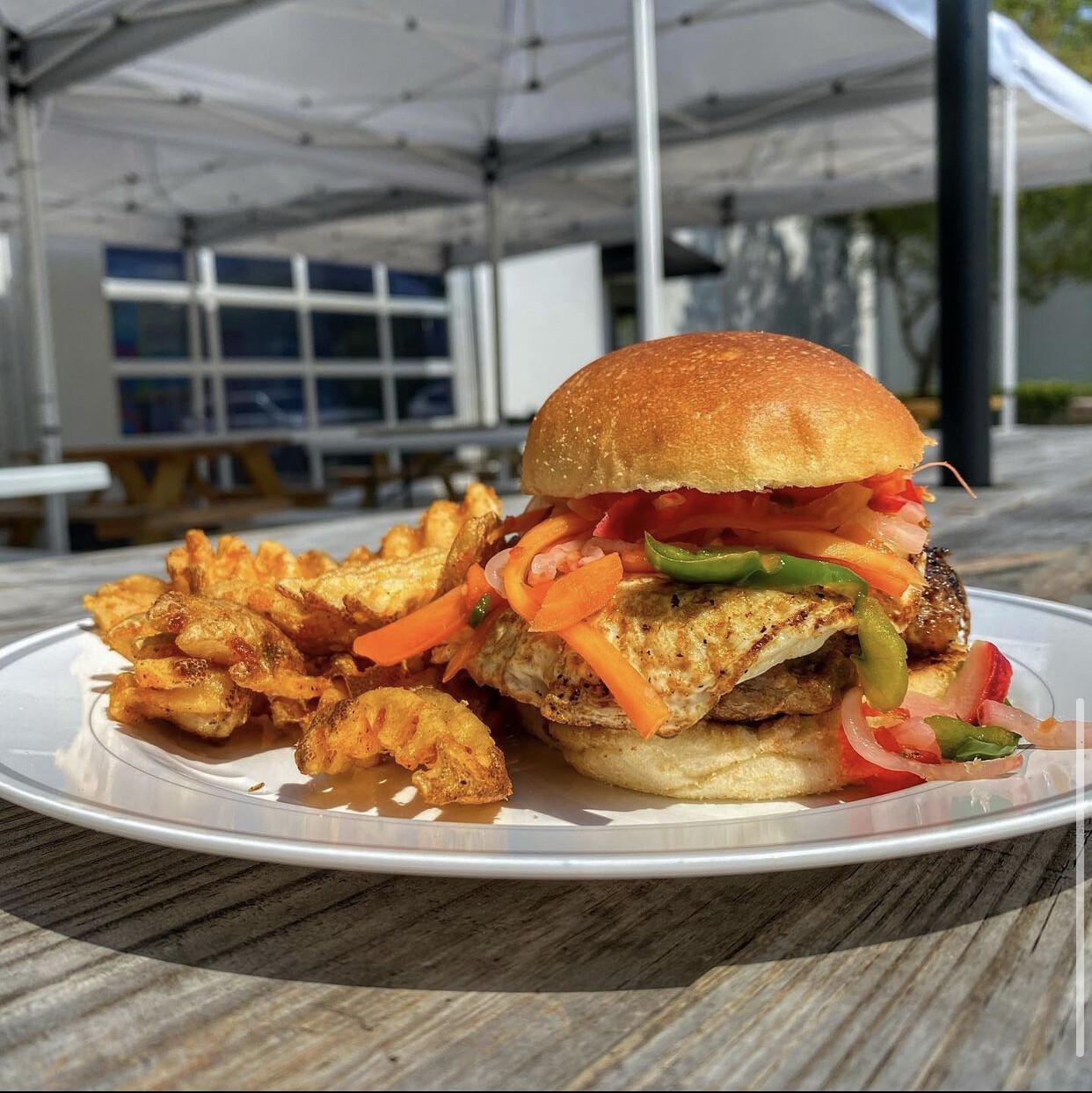 The Burger MAC.hine - Our Burger