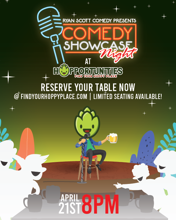 April Comedy Show 3 to 6 People
